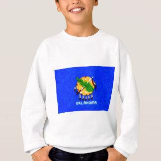 Oklahoma Painted Flag Products Sweatshirt