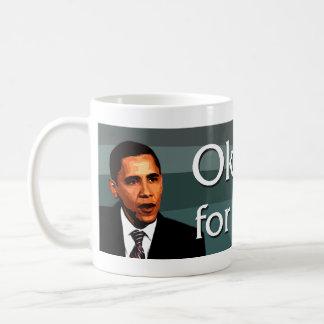 Oklahoma para la taza de Obama