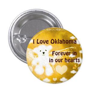 Oklahoma-Para siempre en nuestro hearts_ Pin Redondo De 1 Pulgada