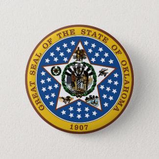 Oklahoma Pinback Button