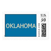 Oklahoma Postage Stamp