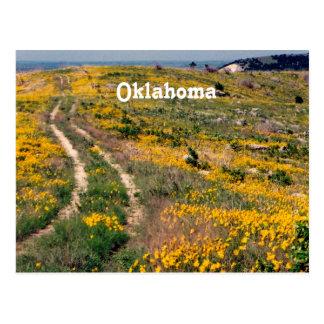 Oklahoma Prairie Postcard