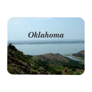 Oklahoma Rectangle Magnets