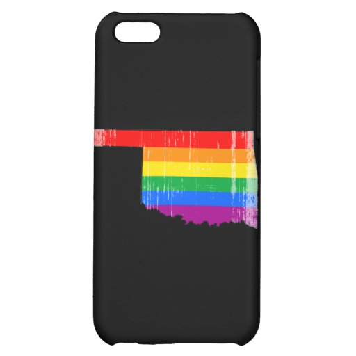 OKLAHOMA PRIDE - DISTRESSED -.png iPhone 5C Cover