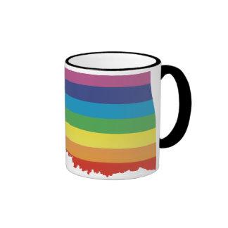 oklahoma pride. ringer coffee mug