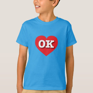 Oklahoma Red Heart - Big Love T-Shirt
