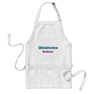 Oklahoma-Redman Adult Apron