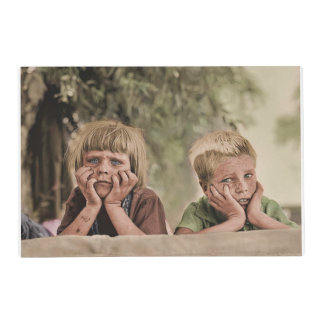 Oklahoma Refugee Children Placemat