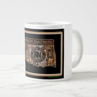 Oklahoma Rig Up Camo Large Coffee Mug