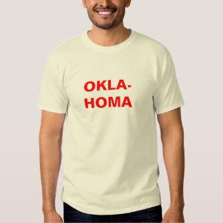 OKLAHOMA - rojo Poleras