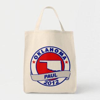 Oklahoma Ron Paul Canvas Bags