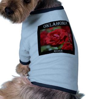 Oklahoma Rose Dog T-shirt