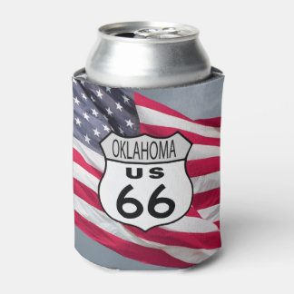 Oklahoma Route 66 Can Cooler