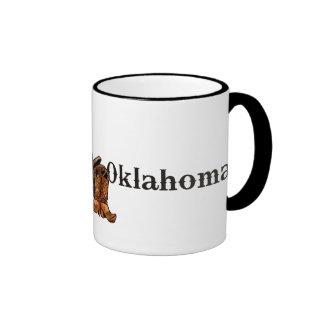 Oklahoma Saddle and Boots Coffee Mug