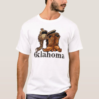 Oklahoma Saddle and Boots T-Shirt