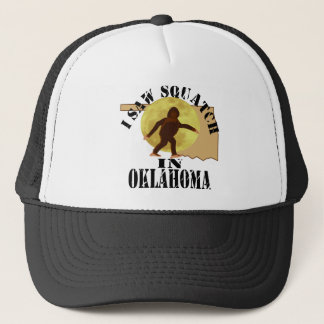 Oklahoma Sasquatch Bigfoot Spotter - I Saw Him Trucker Hat
