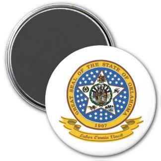 Oklahoma Seal Magnet