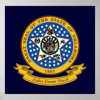 Oklahoma Seal Poster