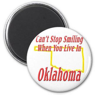 Oklahoma - Smiling Magnet