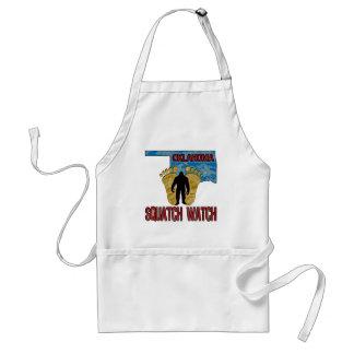 Oklahoma Squatch Watch Adult Apron