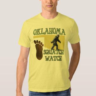 Oklahoma Squatch Watch T-shirt