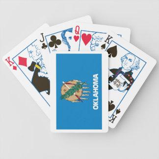 Oklahoma State Flag 1859 Playing Cards