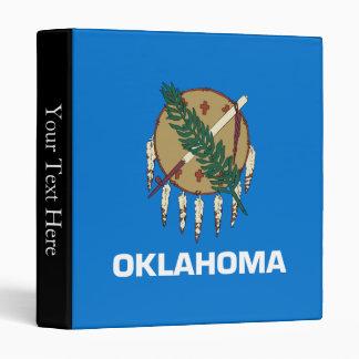 Oklahoma State Flag 3 Ring Binder
