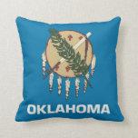 Oklahoma State Flag American MoJo Pillow
