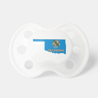 Oklahoma State Flag and Map BooginHead Pacifier