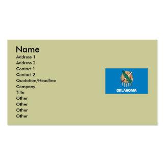 Oklahoma State Flag Business Card