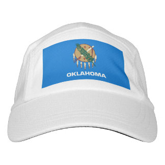 Oklahoma State Flag Design Hat
