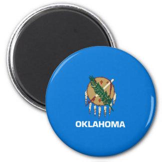Oklahoma State Flag Design Magnet