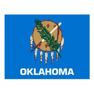 Oklahoma State Flag Design Postcard