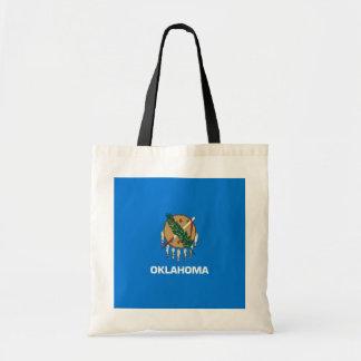Oklahoma State Flag Design Tote Bag