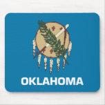 Oklahoma State Flag Mousepad