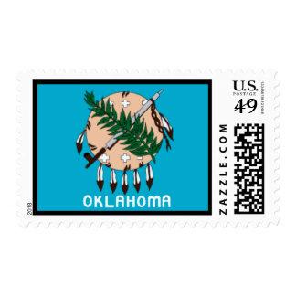 Oklahoma State Flag Postage