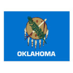 Oklahoma State Flag Postcard at Zazzle