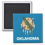 Oklahoma State Flag Refrigerator Magnets
