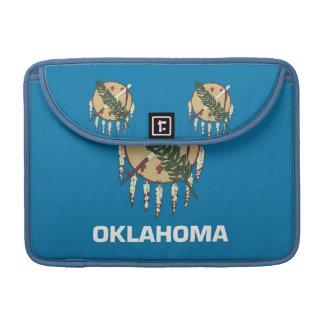 Oklahoma State Flag Rickshaw Flap Sleeve MacBook Pro Sleeve