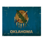 Oklahoma State Flag Vintage.png Postcard at Zazzle