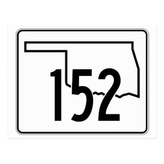 Oklahoma State Highway 152 Postcard