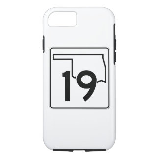 Oklahoma State Highway 19 iPhone 7 Case