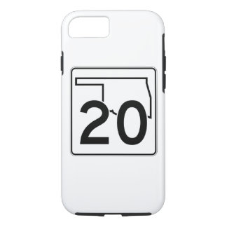 Oklahoma State Highway 20 iPhone 7 Case