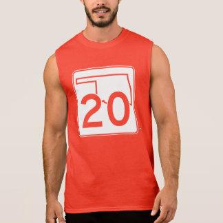 Oklahoma State Highway 20 Sleeveless Shirt