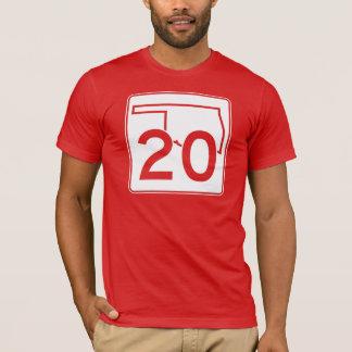 Oklahoma State Highway 20 T-Shirt