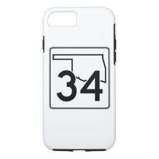 Oklahoma State Highway 34 iPhone 7 Case