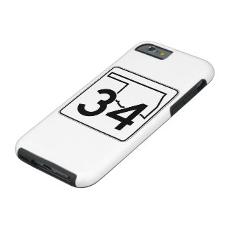 Oklahoma State Highway 34 Tough iPhone 6 Case