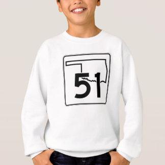 Oklahoma State Highway 51 Sweatshirt