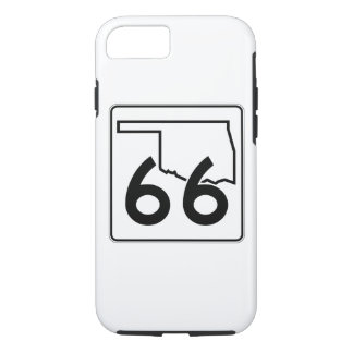 Oklahoma State Highway 66 iPhone 7 Case