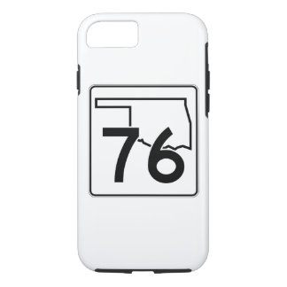 Oklahoma State Highway 76 iPhone 7 Case